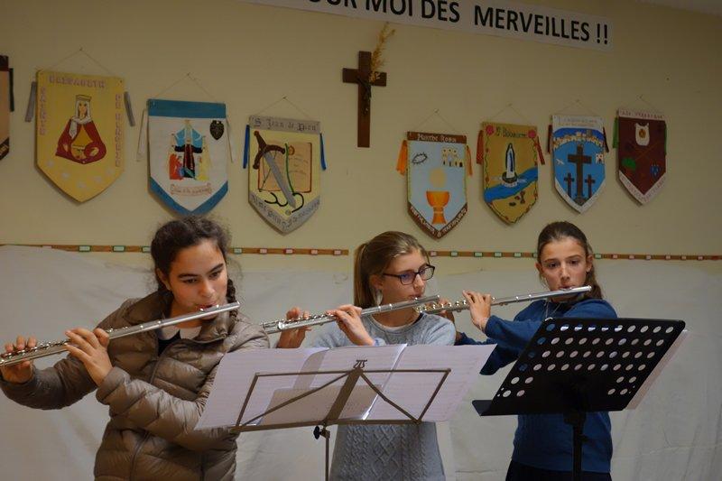 Trio de flûtes