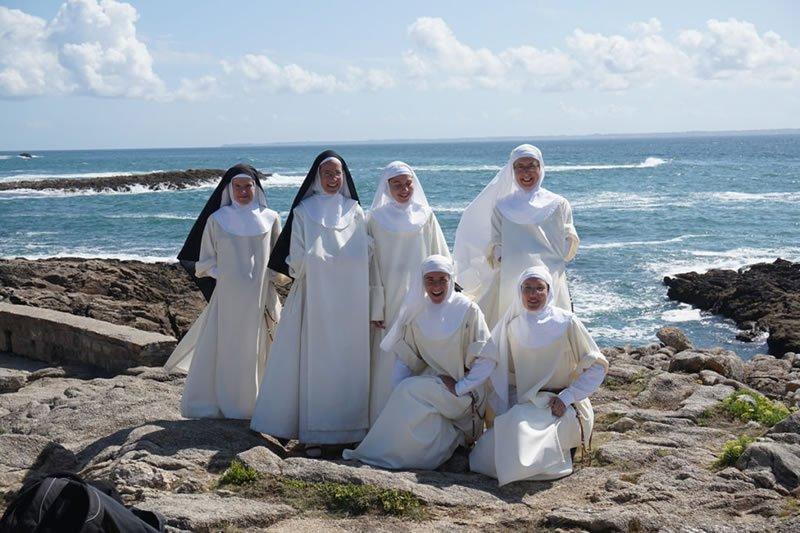 Sortie du noviciat sur la côte